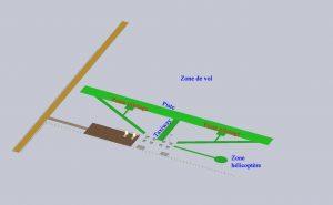 Plan du Terrain du CAMS
