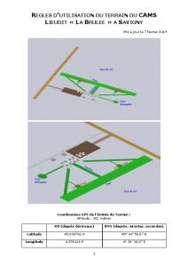 Règlement terrain v7.2.2019