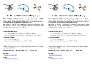 Presentation CAMS 2019-2020