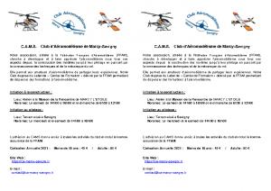 Presentation CAMS 2020-2021