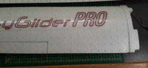 Figure 3 : l'aile de l'EasyGlider® prête à être modifiée