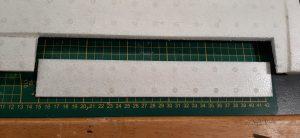 Figure 4 : la découpe des volets