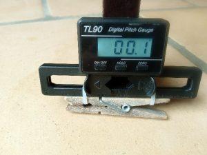 Figure 11 : l'incidence-mètre
